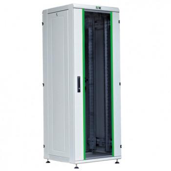 ITK Шкаф сет. 19 42U 800х800, стек.пер.дверь сер.(место3из3)